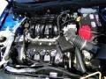 2011 Blue Flame Metallic Ford Fusion SE V6  photo #28