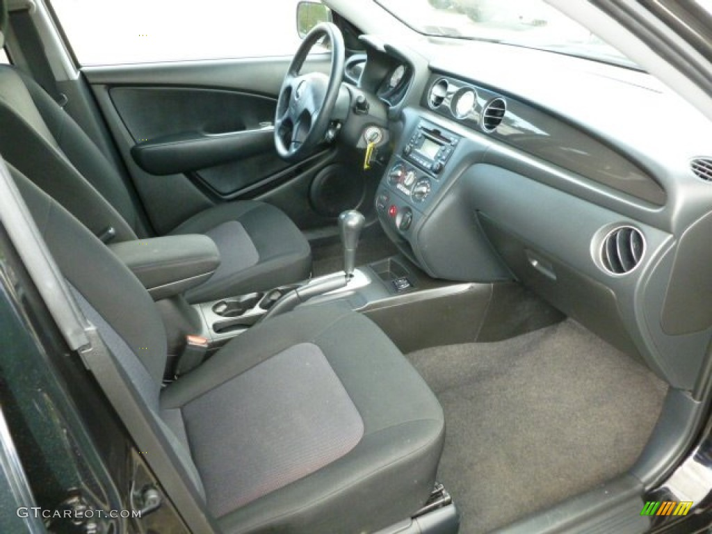Charcoal Interior 2006 Mitsubishi Outlander Se 4wd Photo 65274383