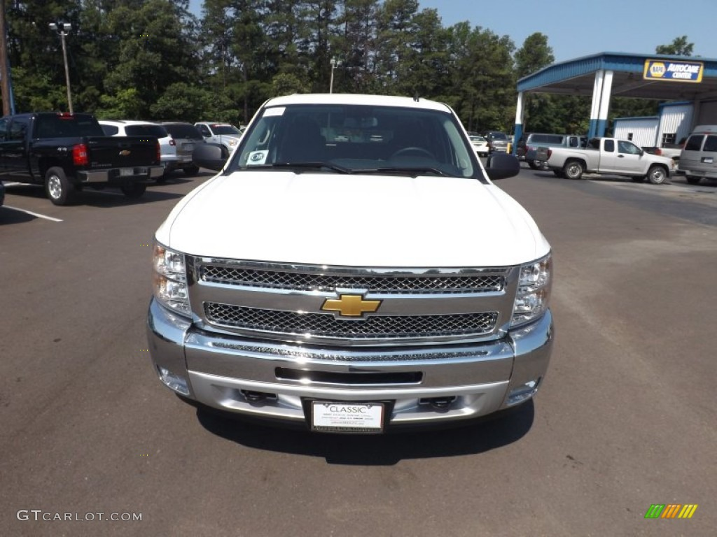 2012 Silverado 1500 LT Crew Cab 4x4 - Summit White / Ebony photo #8