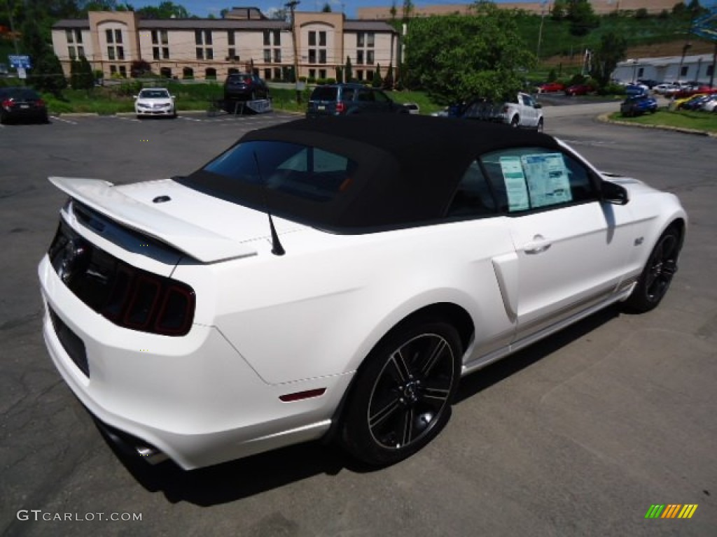 2013 mustang gt cs california special convertible performance white. Black Bedroom Furniture Sets. Home Design Ideas