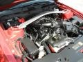 2011 Red Candy Metallic Ford Mustang V6 Premium Convertible  photo #30