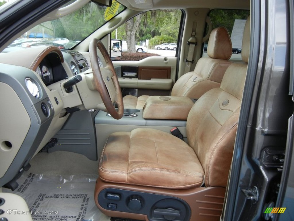 2006 Ford F150 King Ranch Supercrew Interior Photo 65282732