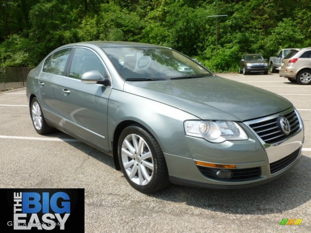 2006 granite green metallic volkswagen passat 3 6 sedan. Black Bedroom Furniture Sets. Home Design Ideas