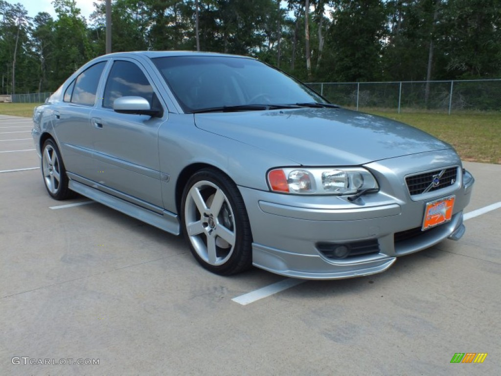 r electric silver metallic 2006 volvo s60 r awd exterior. Black Bedroom Furniture Sets. Home Design Ideas