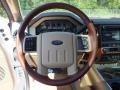 2012 White Platinum Metallic Tri-Coat Ford F250 Super Duty King Ranch Crew Cab 4x4  photo #14
