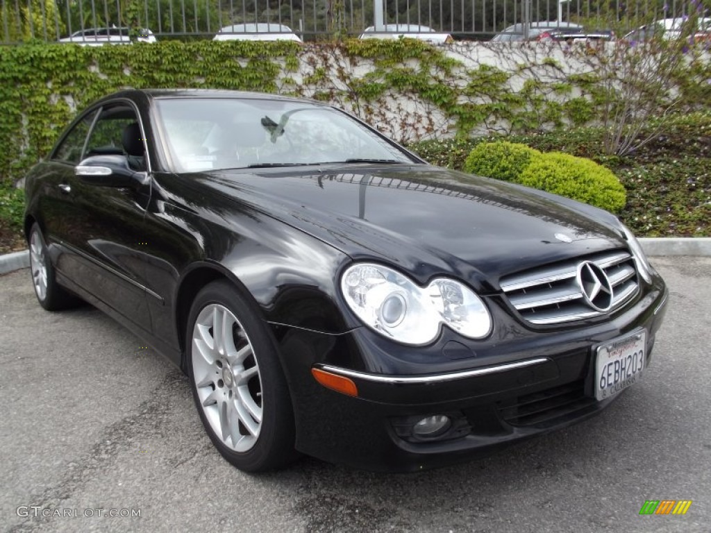 2008 black mercedes benz clk 350 coupe 65228590 for 2008 mercedes benz clk 350