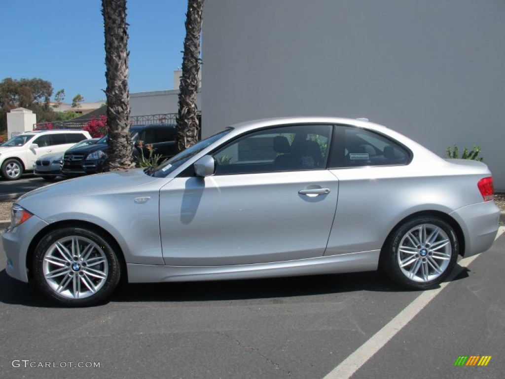 Bmw Exterior: Titanium Silver Metallic 2012 BMW 1 Series 128i Coupe