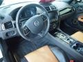 2012 Jaguar XK London Tan/Warm Charcoal Interior Prime Interior Photo