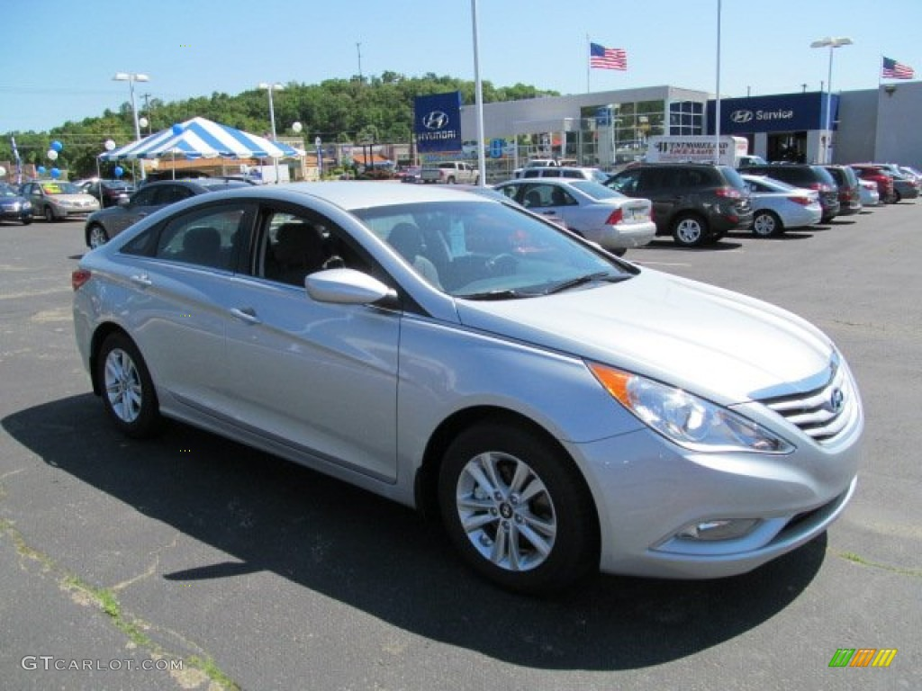 2013 Radiant Silver Hyundai Sonata Gls 65306558 Gtcarlot Com Car Color Galleries
