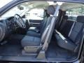 2012 Black Chevrolet Silverado 1500 LT Extended Cab 4x4  photo #13