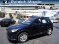 2013 Stormy Blue Mica Mazda CX-5 Sport AWD  photo #1