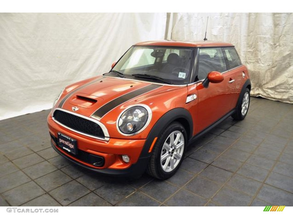 2012 spice orange metallic mini cooper s hardtop 65361419 car color galleries. Black Bedroom Furniture Sets. Home Design Ideas