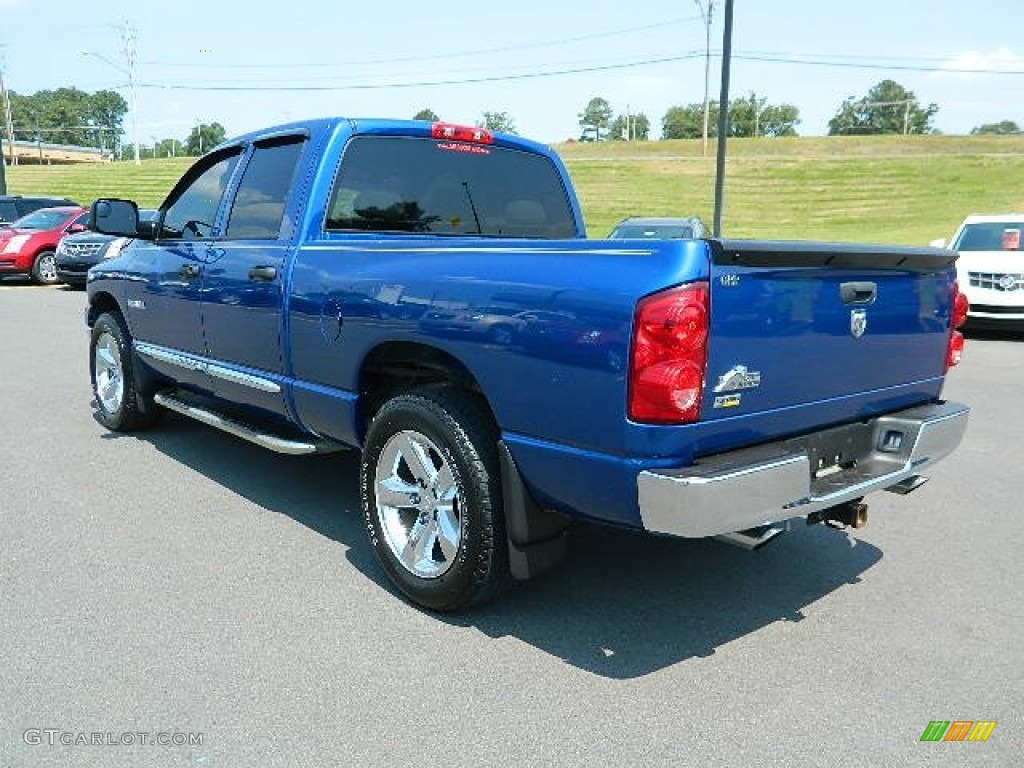 Electric Blue Pearl Dodge Ram 1500