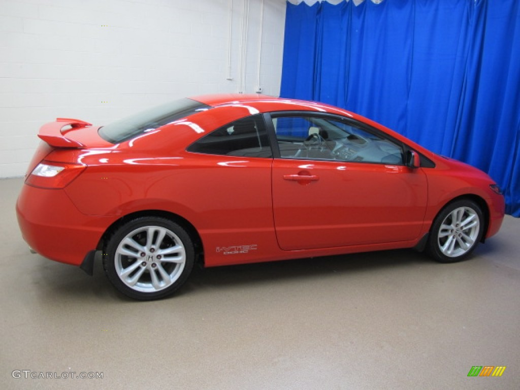 rallye red 2006 honda civic si coupe exterior photo 65395668 gtcarlot