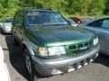 Garden Green Mica 2002 Isuzu Rodeo S 4x4