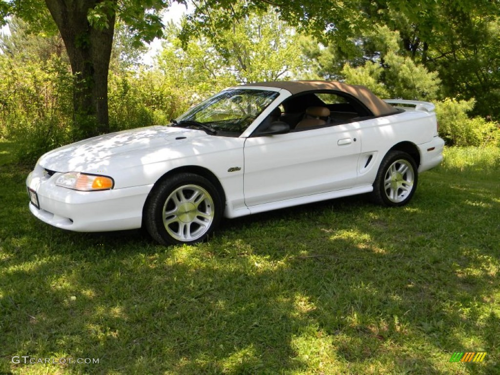 Ford 1998 ford mustang specs : Ultra White 1998 Ford Mustang GT Convertible Exterior Photo ...
