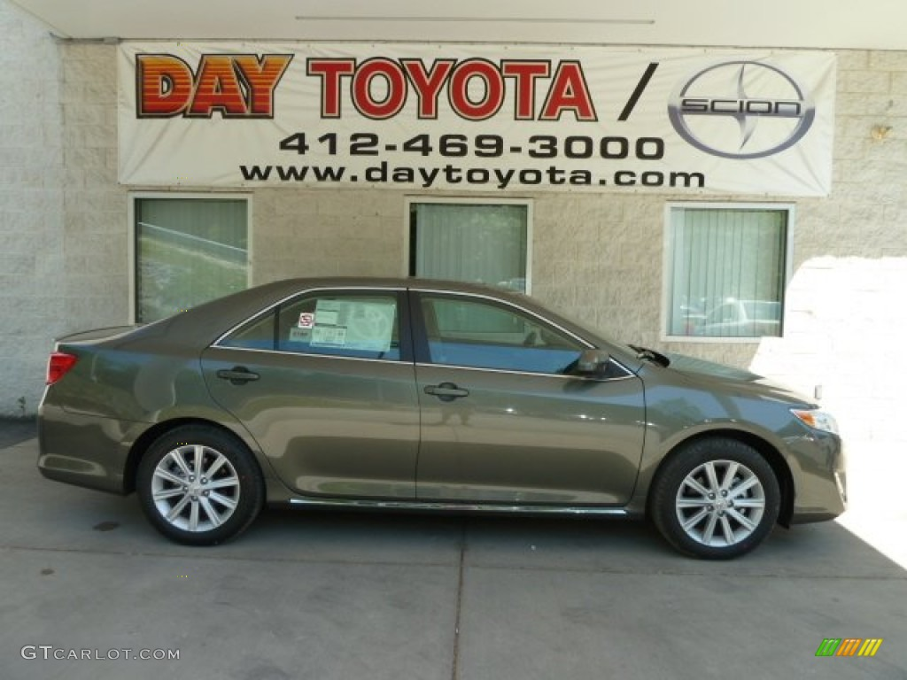 2012 Cypress Green Pearl Toyota Camry Xle 65412032 Photo 10