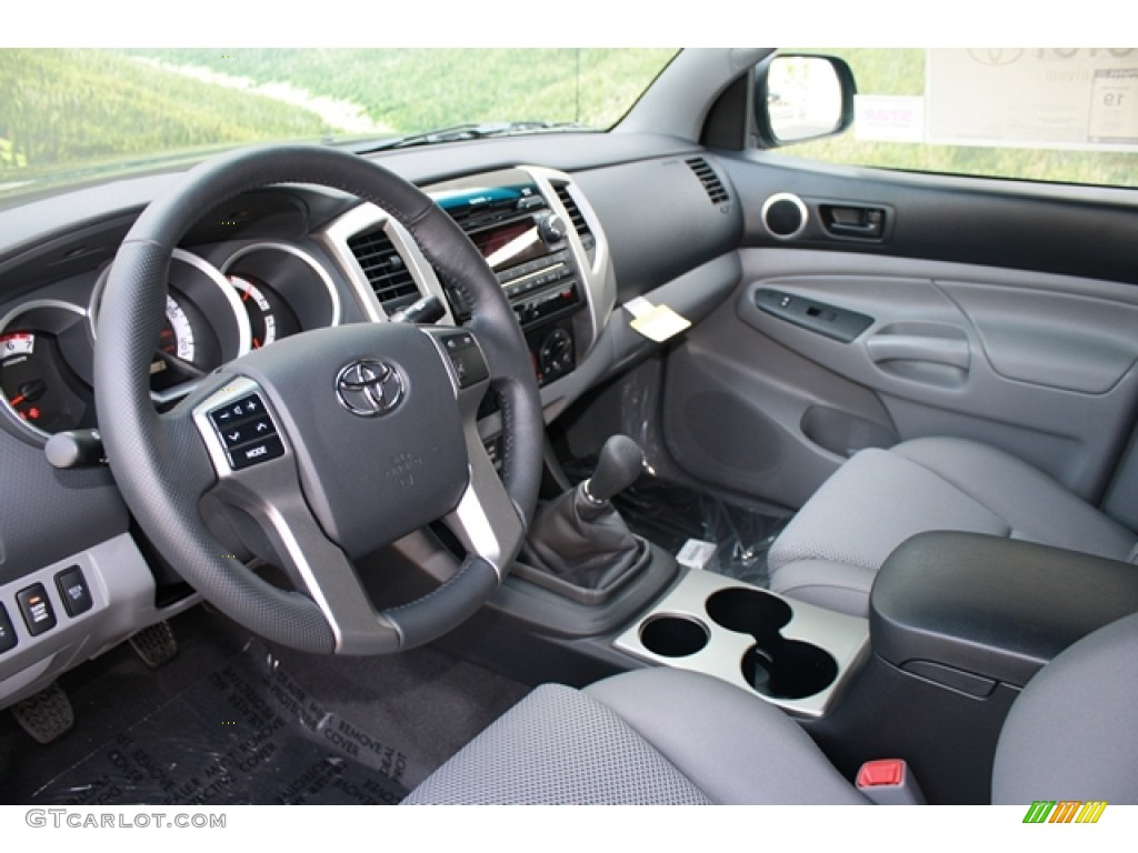2012 toyota tacoma v6 trd access cab 4x4 interior color. Black Bedroom Furniture Sets. Home Design Ideas