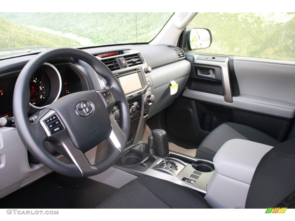 Graphite Interior 2012 Toyota 4runner Trail 4x4 Photo
