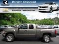 2012 Graystone Metallic Chevrolet Silverado 1500 LT Extended Cab 4x4  photo #1