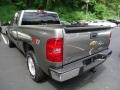 2012 Graystone Metallic Chevrolet Silverado 1500 LT Extended Cab 4x4  photo #2