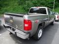 2012 Graystone Metallic Chevrolet Silverado 1500 LT Extended Cab 4x4  photo #4