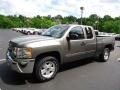 2012 Graystone Metallic Chevrolet Silverado 1500 LT Extended Cab 4x4  photo #8