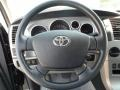 Graphite Gray Steering Wheel Photo for 2010 Toyota Tundra #65469973