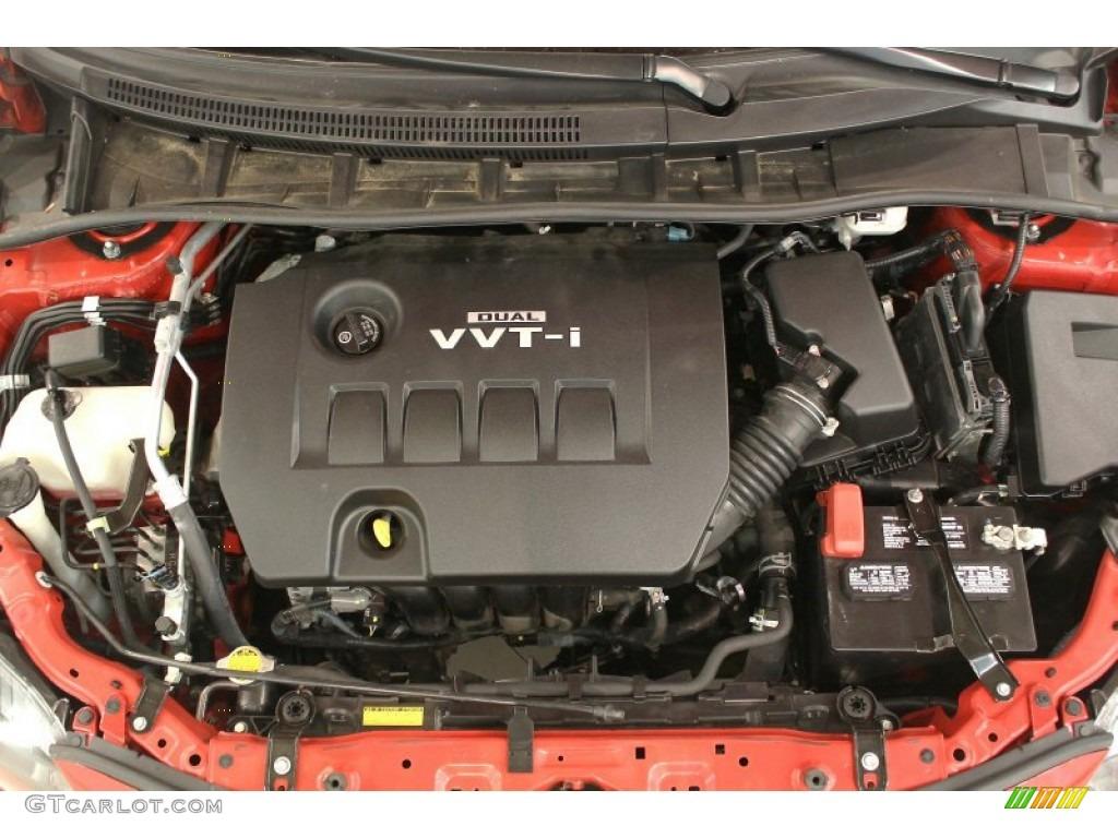2010 Toyota Corolla S 1 8 Liter Dohc 16 Valve Dual Vvt I 4