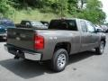 2012 Mocha Steel Metallic Chevrolet Silverado 1500 LS Extended Cab 4x4  photo #8