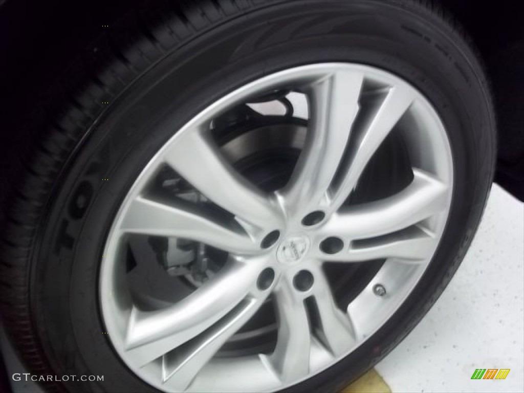 2011 Murano CrossCabriolet AWD - Super Black / CC Cashmere photo #5