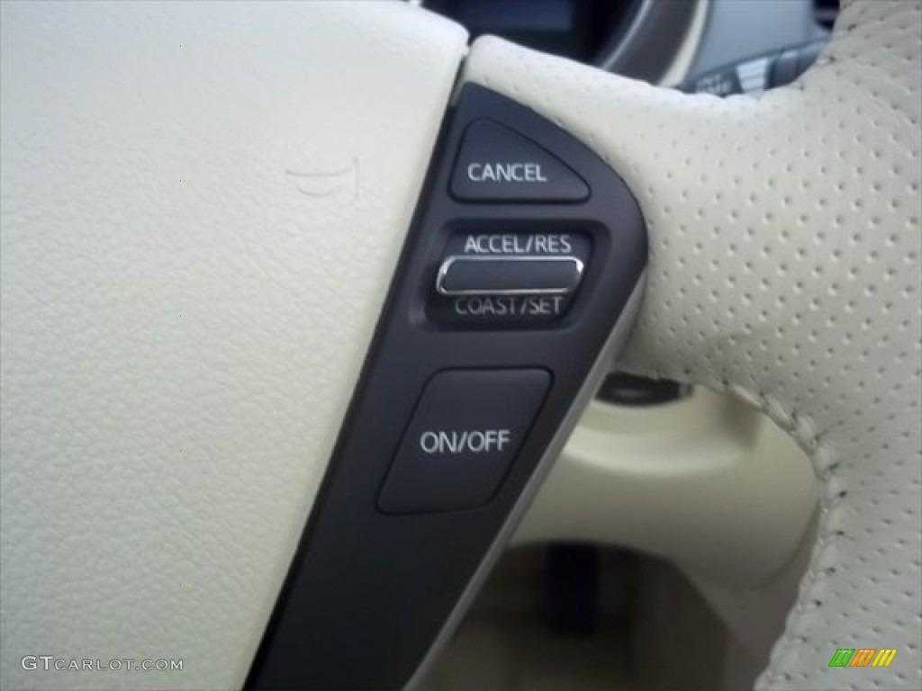 2011 Murano CrossCabriolet AWD - Super Black / CC Cashmere photo #17