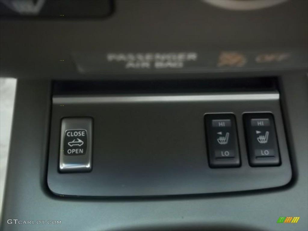 2011 Murano CrossCabriolet AWD - Super Black / CC Cashmere photo #22