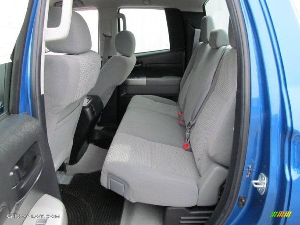 2008 Tundra Double Cab 4x4 - Blue Streak Metallic / Graphite Gray photo #10