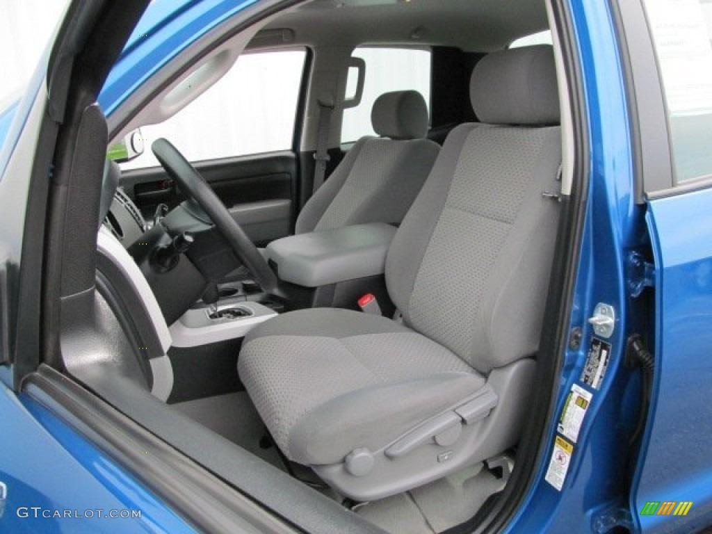 2008 Tundra Double Cab 4x4 - Blue Streak Metallic / Graphite Gray photo #11