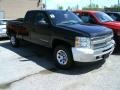 2012 Black Chevrolet Silverado 1500 LS Extended Cab 4x4  photo #1