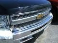 2012 Black Chevrolet Silverado 1500 LS Extended Cab 4x4  photo #2