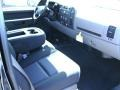 2012 Black Chevrolet Silverado 1500 LS Extended Cab 4x4  photo #4