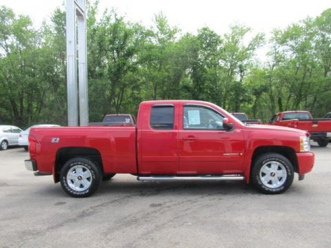 2007 chevrolet silverado 1500 ltz extended cab 4x4 data. Black Bedroom Furniture Sets. Home Design Ideas