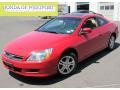 San Marino Red 2007 Honda Accord EX-L Coupe