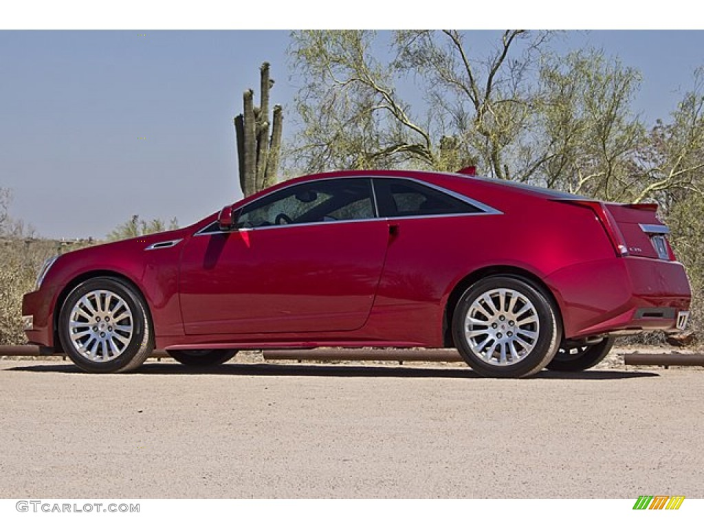 crystal red tintcoat 2012 cadillac cts coupe exterior photo 65501771. Black Bedroom Furniture Sets. Home Design Ideas