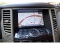2010 Infiniti FX Wheat Interior Navigation Photo