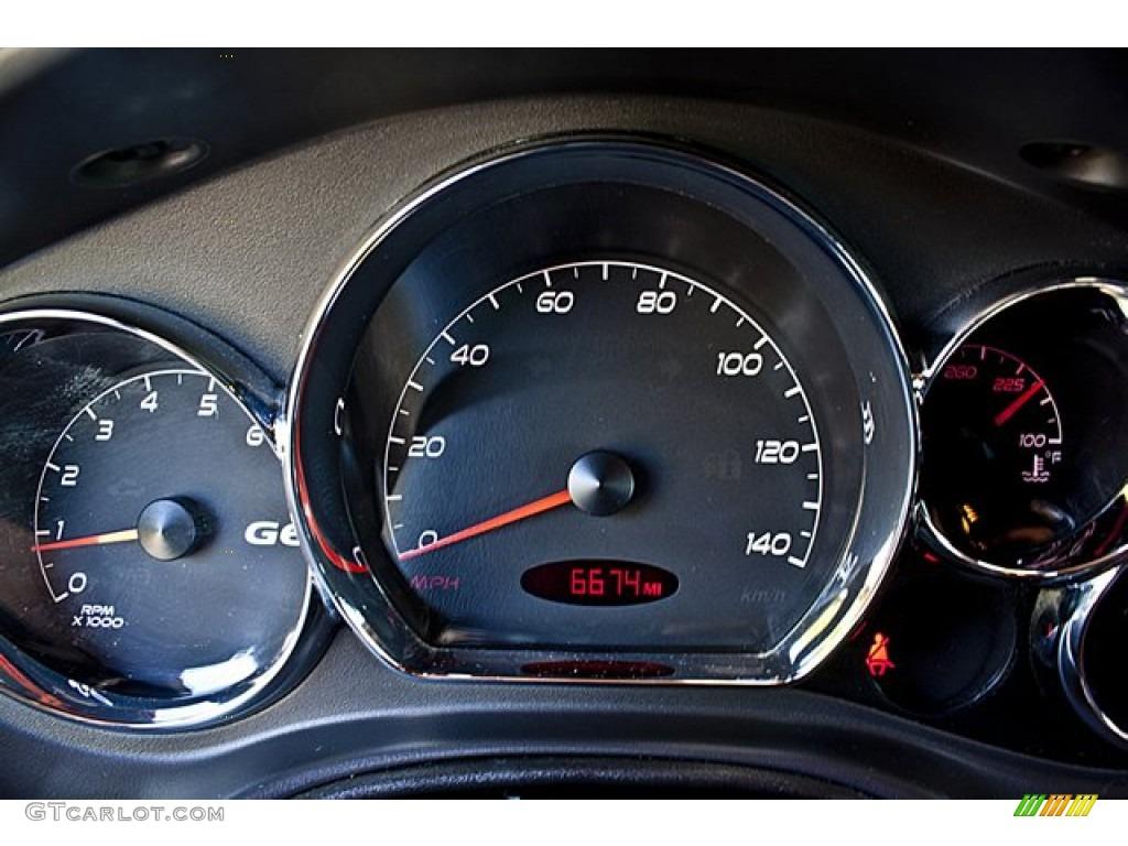 2006 Pontiac G6 Gtp Convertible Gauges Photo 65503778 Gtcarlot Com