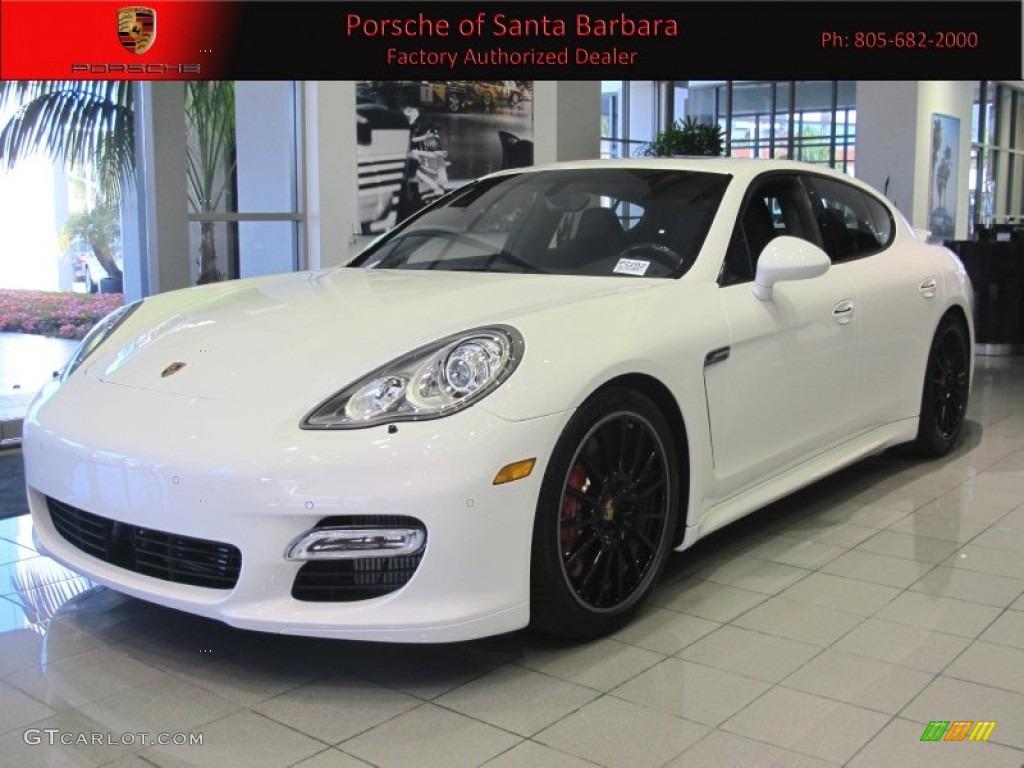 Carrara White Porsche Panamera Turbo S