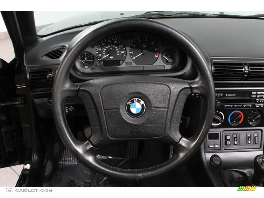 1996 Bmw Z3 1 9 Roadster Black Steering Wheel Photo
