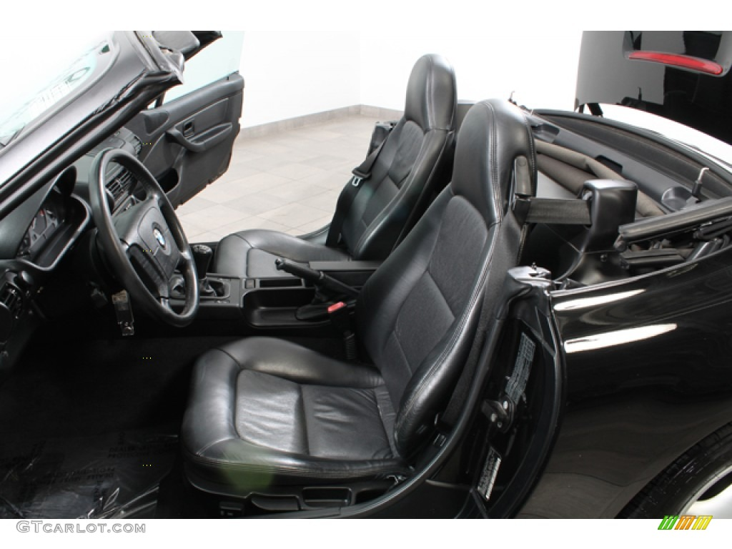 Black Interior 1996 Bmw Z3 1 9 Roadster Photo 65511653