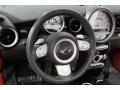 Lounge Redwood Red Leather Steering Wheel Photo for 2009 Mini Cooper #65513369
