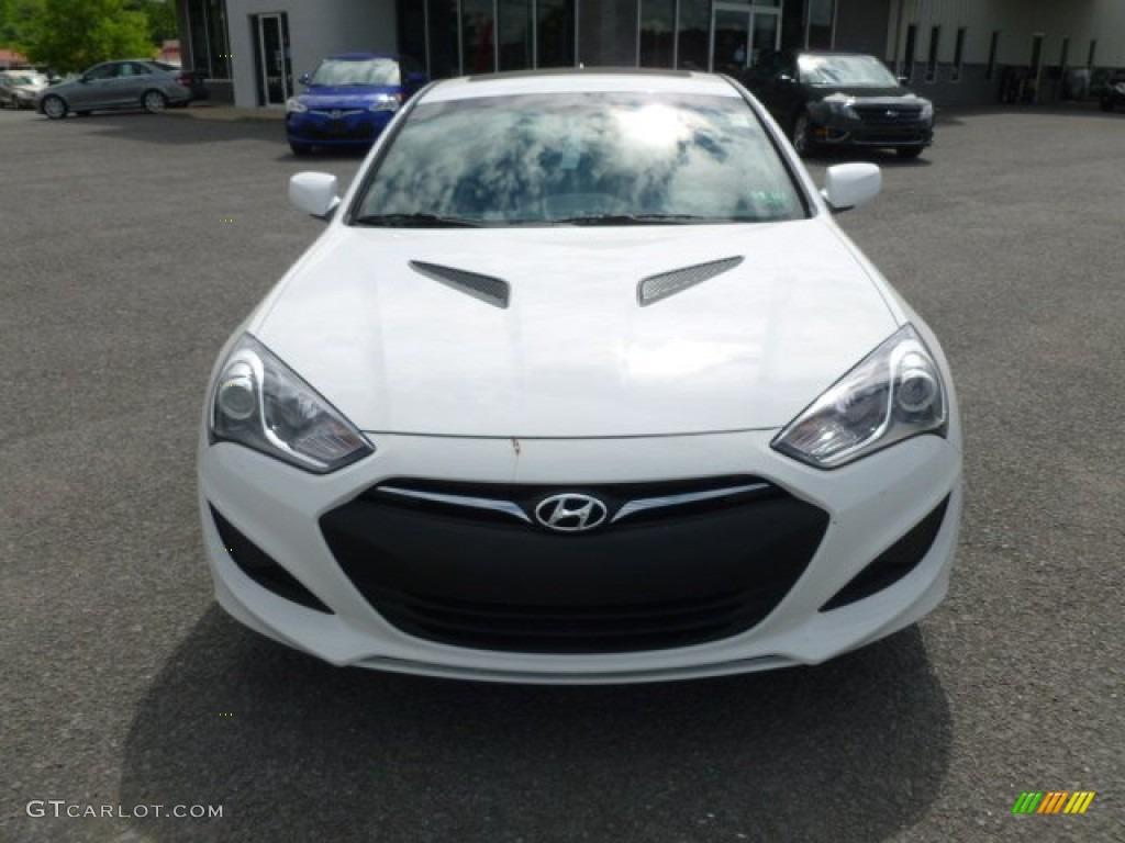 Monaco White 2013 Hyundai Genesis Coupe 2 0t Premium Exterior Photo 65520149 Gtcarlot Com