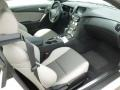 Gray Leather/Gray Cloth Interior Photo for 2013 Hyundai Genesis Coupe #65520222