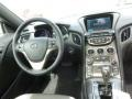Gray Leather/Gray Cloth Controls Photo for 2013 Hyundai Genesis Coupe #65520257
